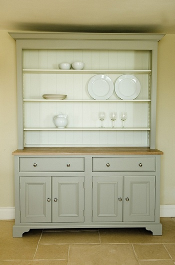 Chichester 5ft Four Door Open Rack Dresser *Neptune > Sideboards & Dressers