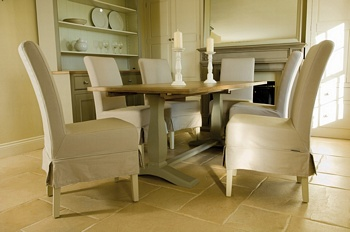 Long Island Linen Dining Chair *Neptune > Chairs