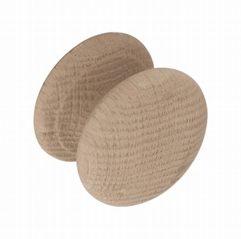 Chichester Small Oak Knob *Neptune > Cabinet Knobs & Fittings