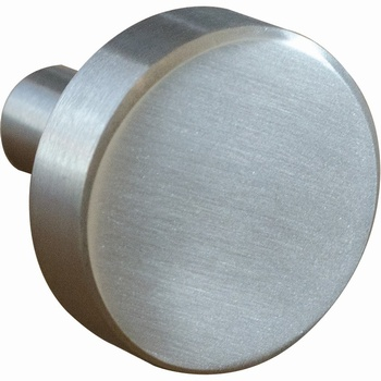 Vivaldi Brushed Stainless Steel Knob *Neptune > Cabinet Knobs & Fittings