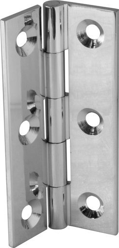 Hinges - Chrome *Neptune > Cabinet Knobs & Fittings