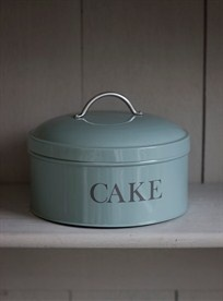 Round Cake Tin - Shutter Blue Baytree Interiors > Kitchen