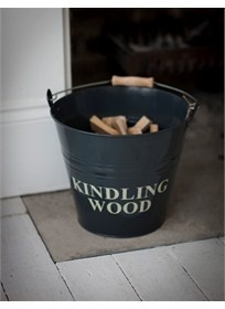 Kindling Bucket - Slate Baytree Interiors > Home
