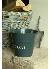 Coal Bucket - Charcoal Baytree Interiors > Home