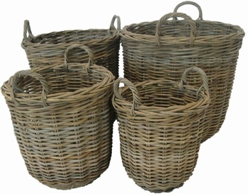 Glenweave Rattan Basket - Medium Baytree Interiors > Baskets