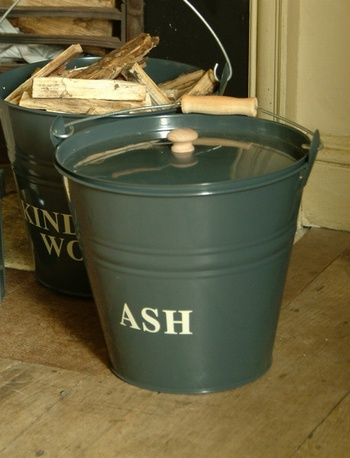 Ash Bucket- Slate Baytree Interiors > Home