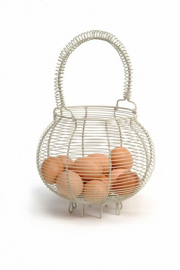 Small Egg Basket in Clay Baytree Interiors > Kitchen