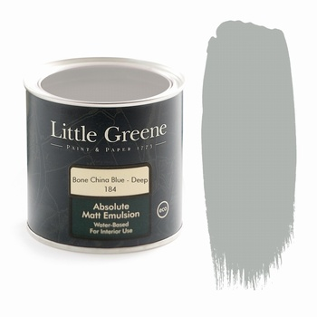 Little Greene Paint - Bone China Blue Deep (184) Little Greene > Paint