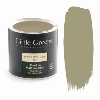 Little Greene Paint - Portland Stone Dark (157) Little Greene > Paint