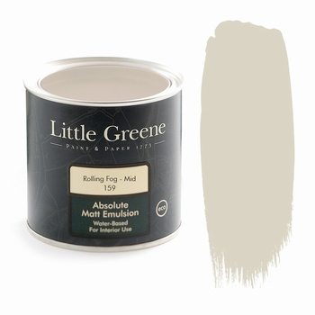 Little Greene Paint - Rolling Fog Mid (159) Little Greene > Paint