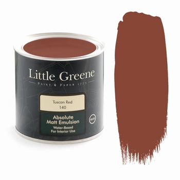 Little Greene Paint - Tuscan Red (140) Little Greene > Paint
