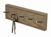Key Rack Oak - 5 Peg